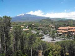 Panorama Etna dai Monti Rossi