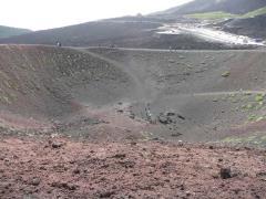 Interno del Cratere Silvestri Etna