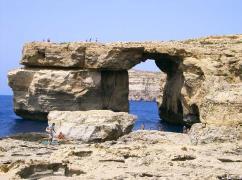 Malta: Grotta sul mare a Gozo
