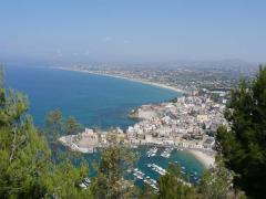 Panorama di Castellammare del Golfo